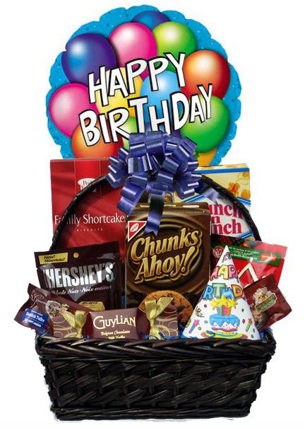 Birthday Gourmet With Balloon